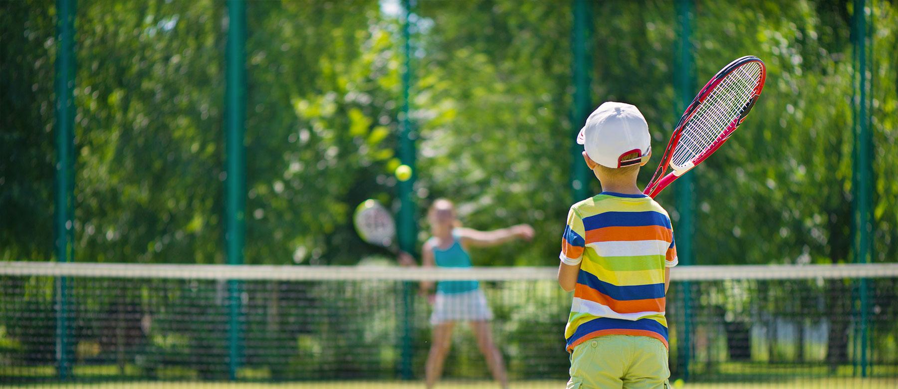 Tennis Banner New Wheeler Summer